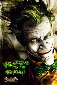 [Batman: Arkham Asylum: Poster: Joker (Product Image)]