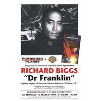 [Richard Briggs signing Babylon 5 Volume 5.01 (Product Image)]