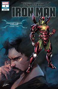 [Tony Stark: Iron Man #1 (Heroes Reborn Armor Variant) (Product Image)]