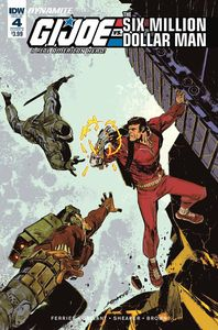 [Gi Joe Vs Six Million Dollar Man #4 (Cover B Loh) (Product Image)]