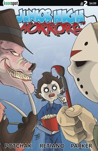 [Junior High Horrors #2 (Cover A - Main) (Product Image)]
