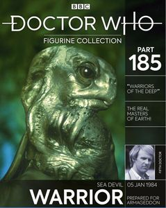 [Doctor Who Figurine Collection #185: Sea Devil (Product Image)]