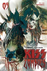 [Kiss: Zombies #5 (Cover B Sayger) (Product Image)]