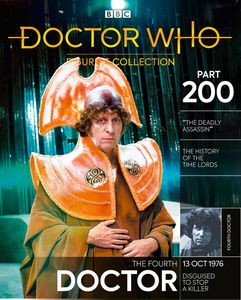 [Doctor Who Figurine Collection #200 Fourth Doctor Time Lord Robes (Product Image)]