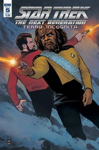 [Star Trek: The Next Generation: Terra Incognita #5 (Cover A Shasteen) (Product Image)]
