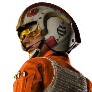 [Star Wars: Deluxe Action Figure: Luke Skywalker: Red Five X-Wing Pilot (Product Image)]