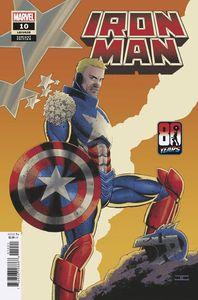 [Iron Man #10 (Cassaday Captain America 80th Variant) (Product Image)]