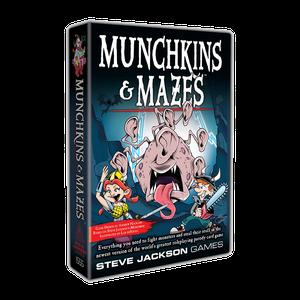 [Munchkin: Munchkins & Mazes (Product Image)]