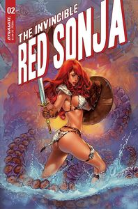 [Invincible Red Sonja #2 (Premium Chatzoudis Variant) (Product Image)]