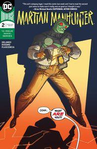 [Martian Manhunter #2 (Product Image)]