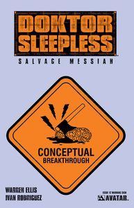 [Doktor Sleepless #12 (Warning Sign Variant) (Product Image)]