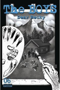 [The Boys: Dear Becky #6 (Robertson Line Art Premium Variant) (Product Image)]