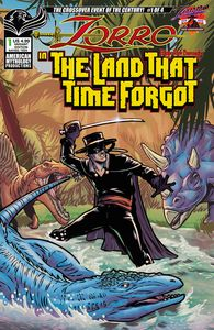 [Zorro: In Land That Time Forgot #1 (Cover B Puglia) (Product Image)]