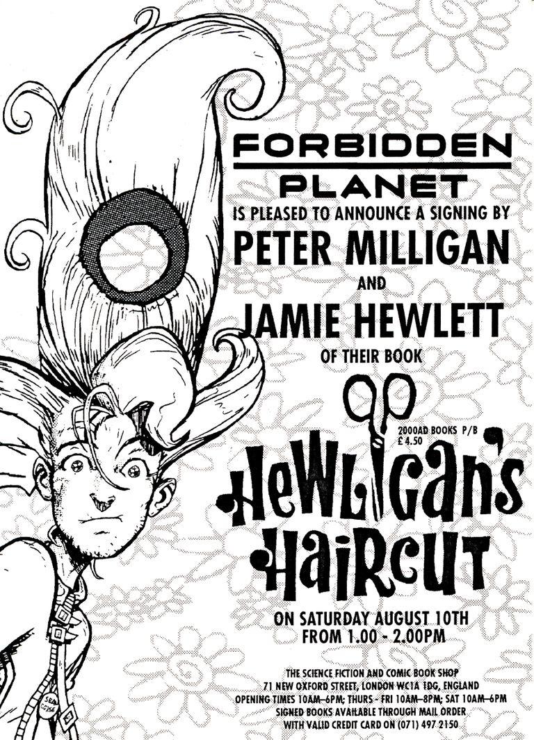 Peter Milligan and Jamie Hewlett