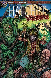 [Hatchet: Vengeance #2 (Main Voodoo Calzada Cover) (Product Image)]