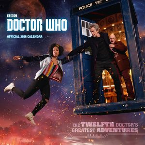 [Doctor Who: 2018 Square Calendar (Product Image)]