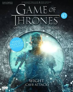 [Game Of Thrones: Model Figure Collection Magazine #47 Skeleton Wight (Product Image)]