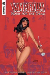 [Vampirella: Roses For Dead #2 (Cover A Linsner) (Product Image)]