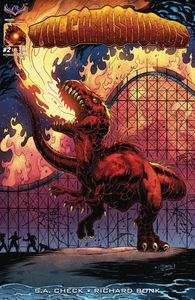 [Volcanosaurus #2 (V-Rex Homage Cover) (Product Image)]