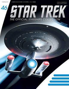 [Star Trek: Starships Figure Collection Magazine #46 Enterprise NCC-1701C (Product Image)]