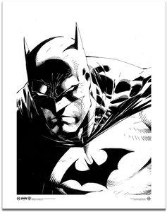 [Batman: Art Print: Dark Knight By Jim Lee (Product Image)]