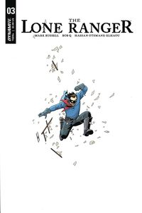 [Lone Ranger: Volume 3 #3 (Cover A Cassaday) (Product Image)]