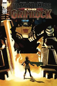 [Transformers: King Grimlock #1 (Cover A Nord) (Product Image)]