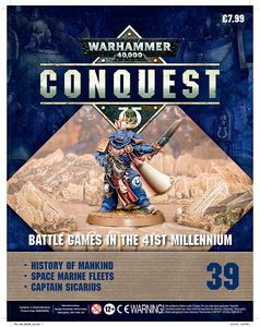 [Warhammer 40K: Conquest: Figurine Collection #39 (Product Image)]
