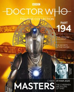 [Doctor Who Figurine Collection #194: Cyber-Master Timeless Children (Product Image)]