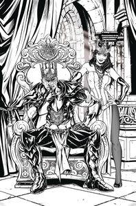 [Grimm Fairy Tales: Tarot #6 (Cover D Riveiro) (Product Image)]
