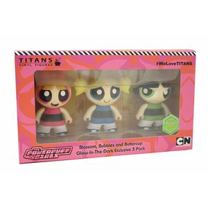 [Powerpuff Girls: 3 Inch TITANS 3-Pack (SDCC 2018) (Product Image)]