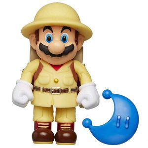 [World Of Nintendo: Action Figure: Odyssey Explorer Mario With Moon (Product Image)]