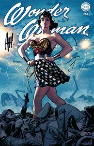 [Wonder Woman #750 (Adam Hughes Exclusive Variant Signed Edition) (Product Image)]