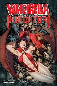 [Vampirella Vs Purgatori #5 (Cover A Pagulayan) (Product Image)]