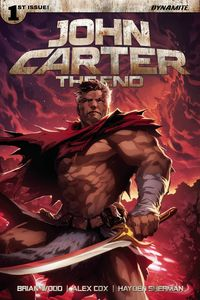 [John Carter: The End #1 (Cover E Tan Exclusive Subscription Variant) (Product Image)]