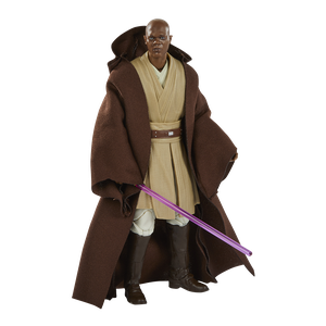 [Star Wars: The Phantom Menace: Black Series Lucasfilm 50th Anniversary Action Figure: Mace Windu (Product Image)]