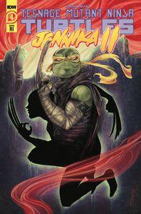 [Teenage Mutant Ninja Turtles: Jennika II #4 (10 Copy Sara Richard Incentive Cover) (Product Image)]