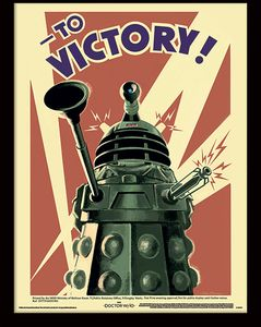 [Doctor Who: Framed Print : Daleks To Victory (Product Image)]