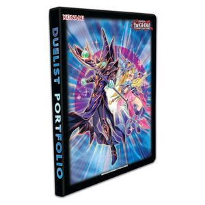 [YU-GI-OH!: Trading Card Game: 9-Pocket Duelist Portfolio: The Dark Magicians (Product Image)]