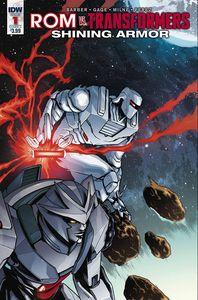 [Rom Vs. Transformers: Shining Armor #1 (Cover C Villanelli) (Product Image)]