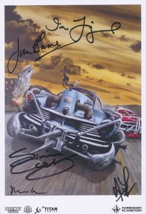 [Freeway Fighter: Volume 1 (Forbidden Planet Exclusive Signed Mini Print Edition) (Product Image)]