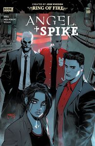[Angel & Spike #10 (Scharf Variant) (Product Image)]