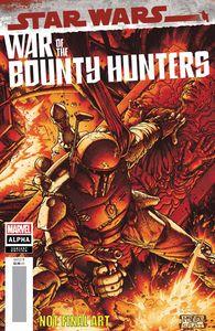 [Star Wars: War Of The Bounty Hunters Alpha #1 (Mcniven Crimson Variant) (Product Image)]