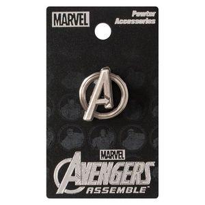 [Avengers: Pewter Lapel Pin Badge: Logo (Product Image)]