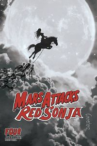 [Mars Attacks/Red Sonja #4 (Suydam Black & White Variant) (Product Image)]