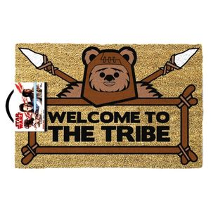 [Star Wars: Doormat: Ewok Welcome To The Tribe (Product Image)]