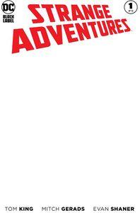 [Strange Adventures #1 (Blank Variant Edition) (Product Image)]