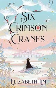 [Six Crimson Cranes (Product Image)]