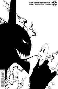 [Dark Nights: Death Metal #4 (Capullo & Glapion Black & White Variant) (Product Image)]