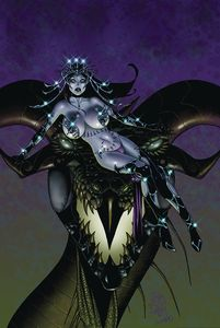 [Tarot: Witch Of The Black Rose #114 (Product Image)]